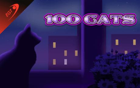 100 Cats Spillemaskine