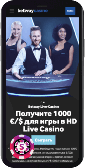Betway Casino Mobil