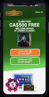 Classic Casino Mobil