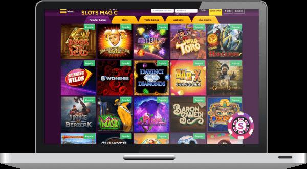 Slots Magic Casino Spil