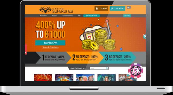 Superlines Casino Spil